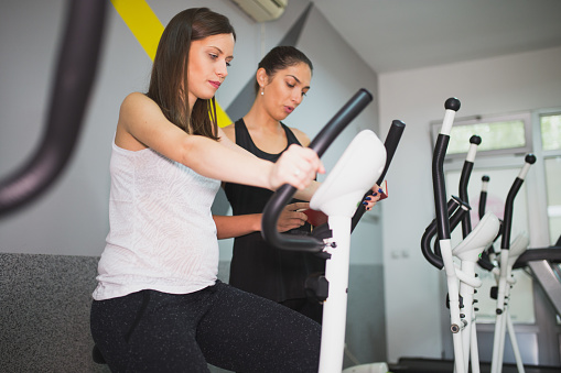 using ellipticals when you are pregnant