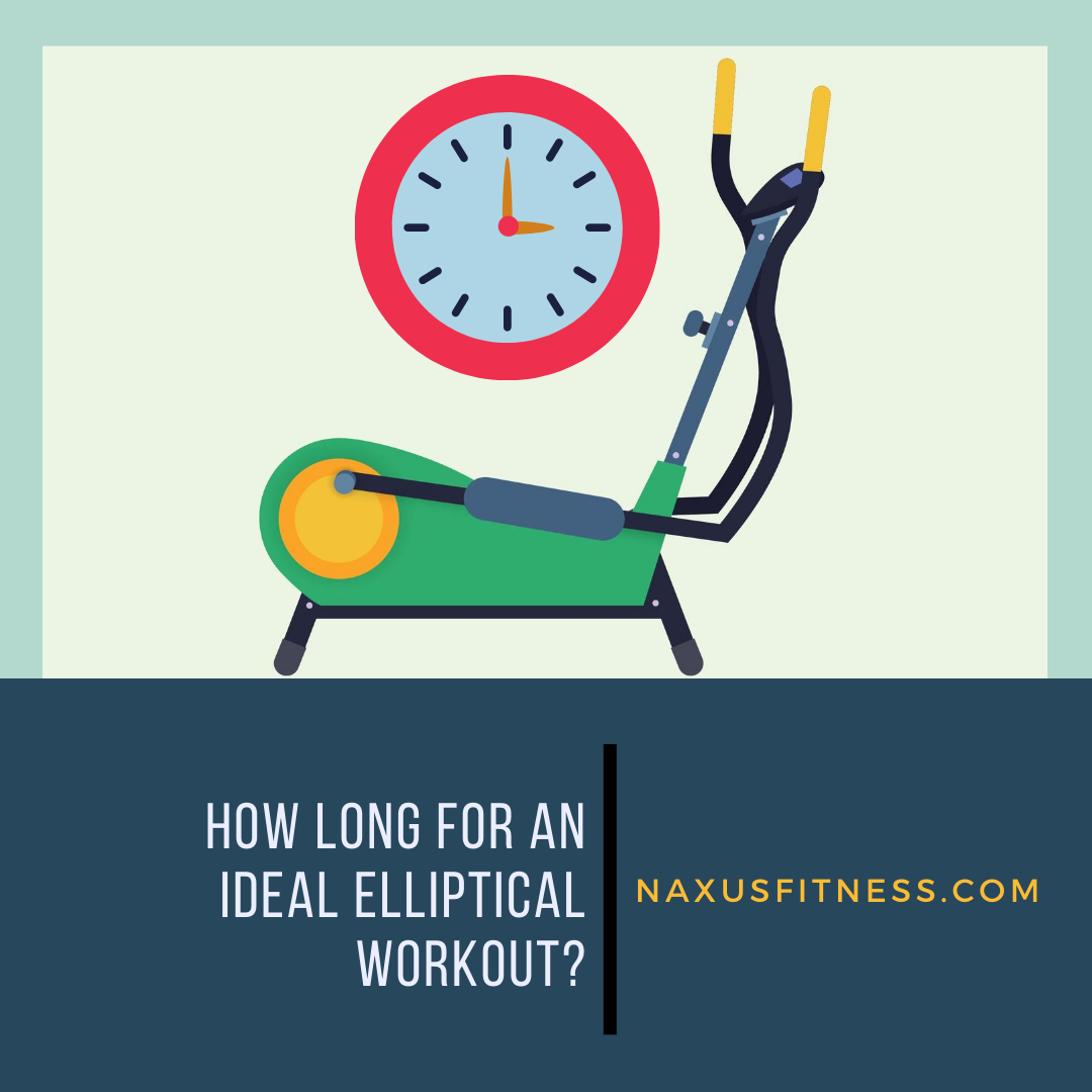 how long should an elliptical session be?