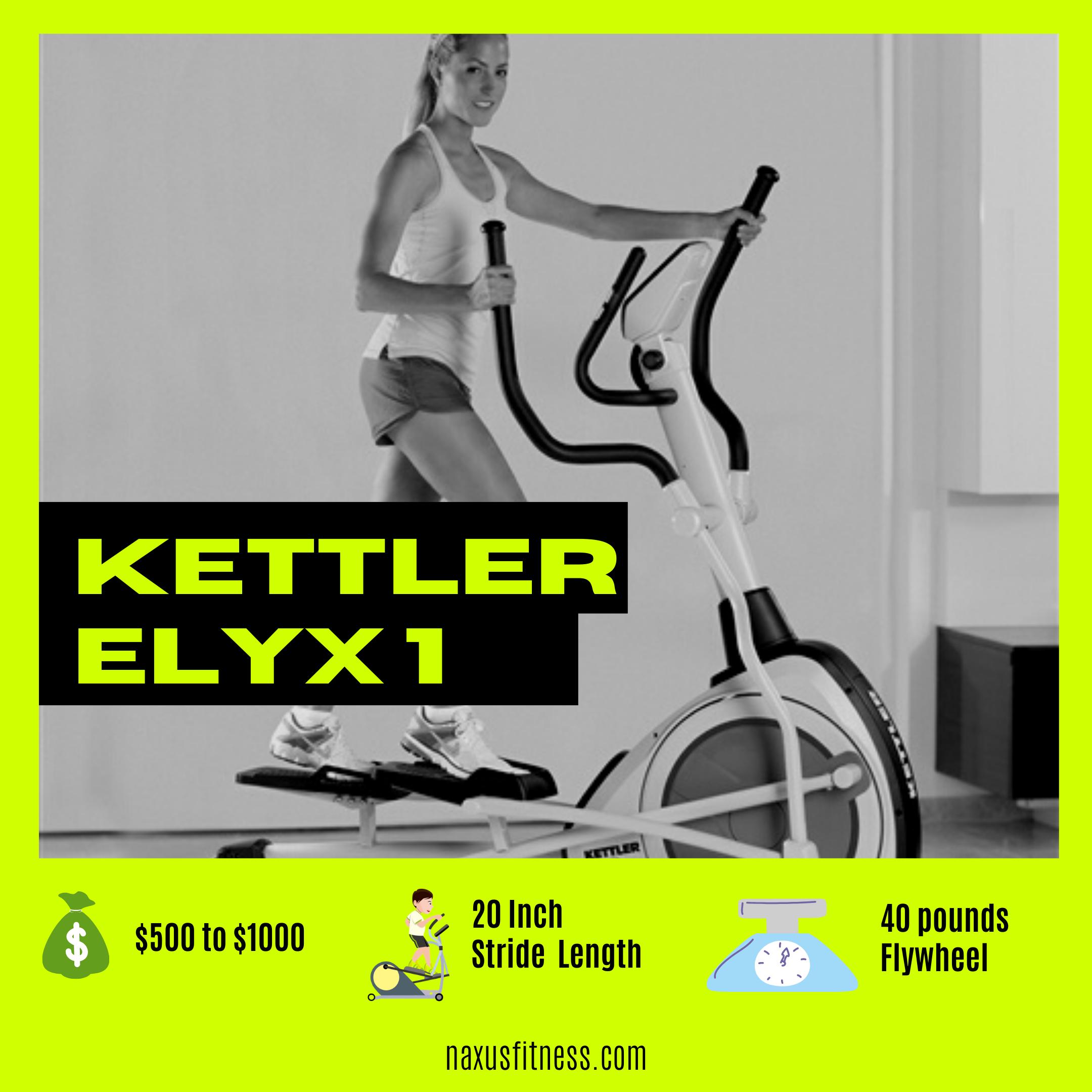 Kettler Elyx 1 Elliptical Review