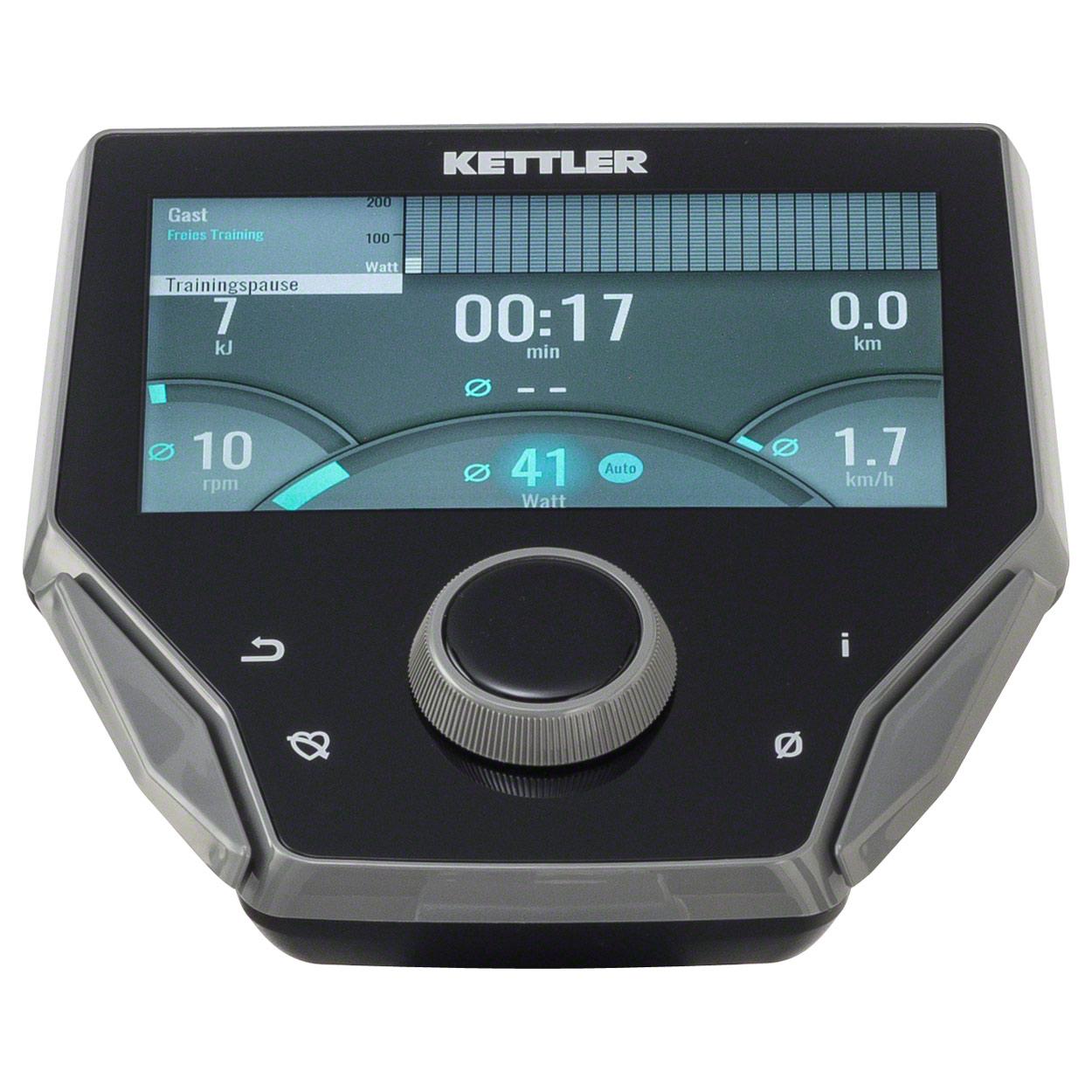 kettler unix 10 ext computer display