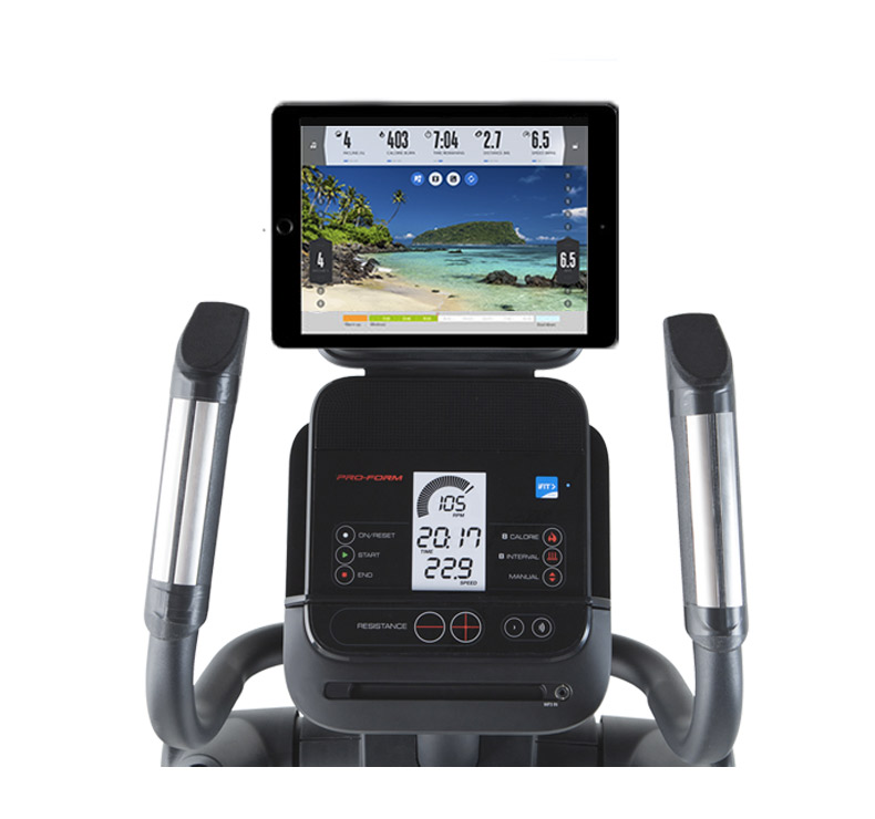 proform endurance 420 E console