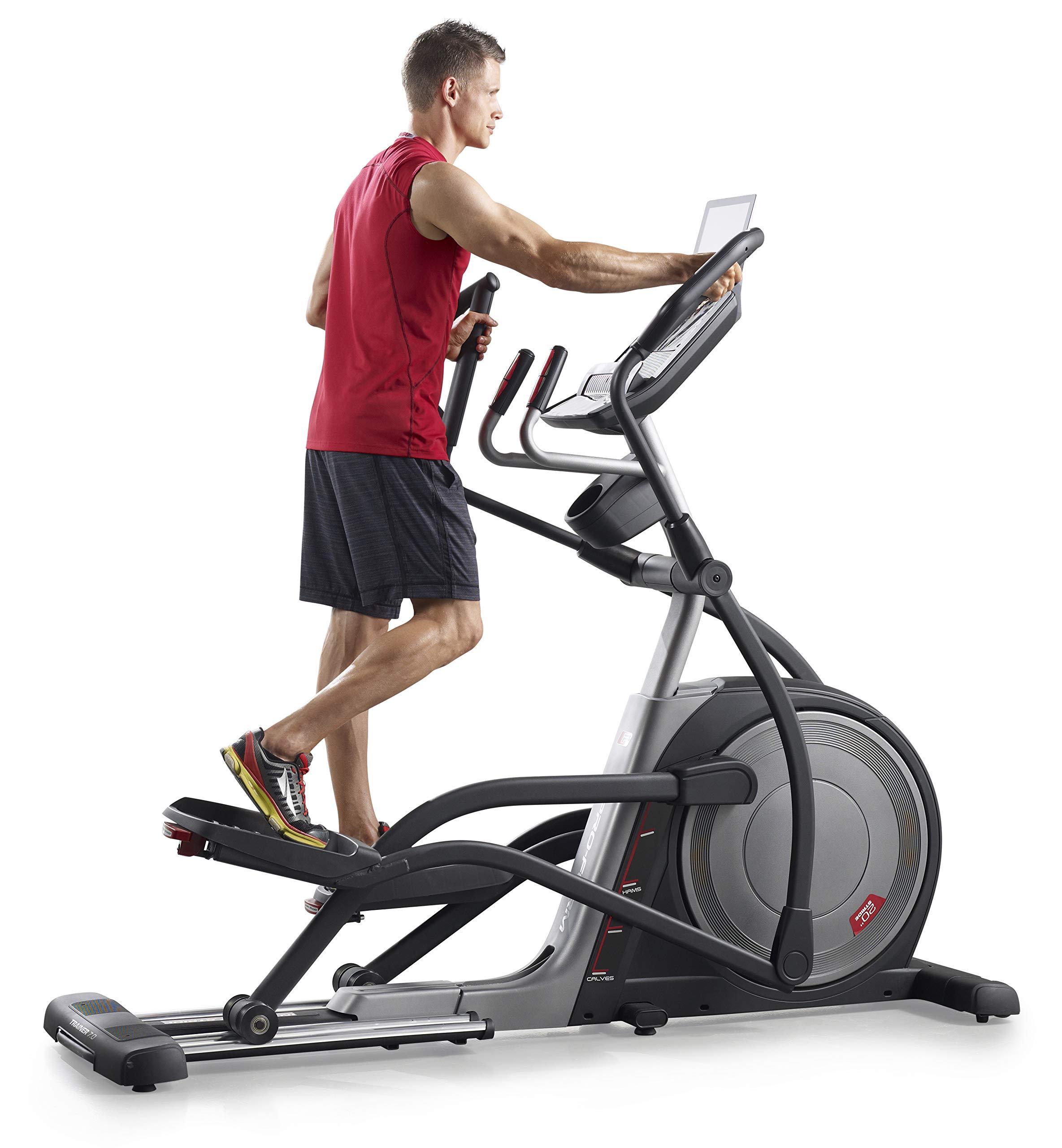 proform endurance 420 E man working out