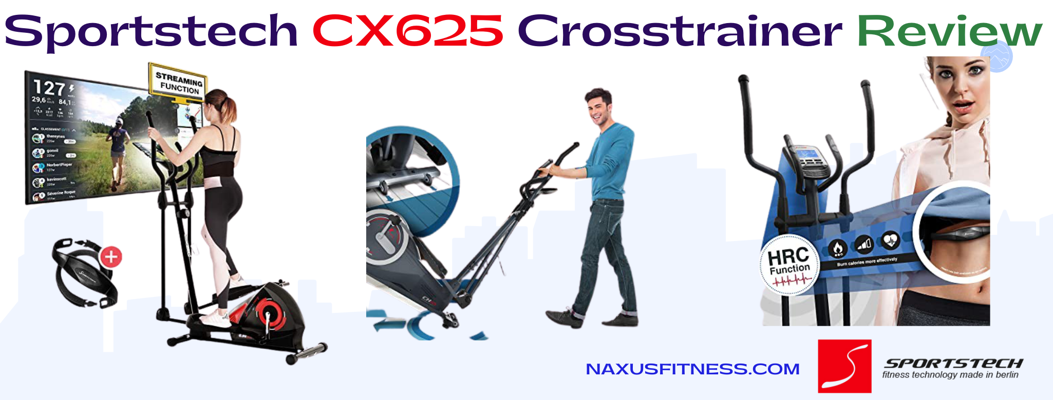 Sportstech CX625 Crosstrainer review