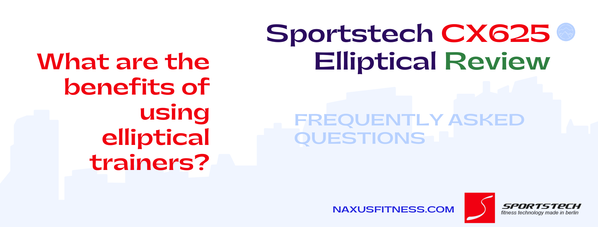Sportstech Crosstrainer CX625 Questions