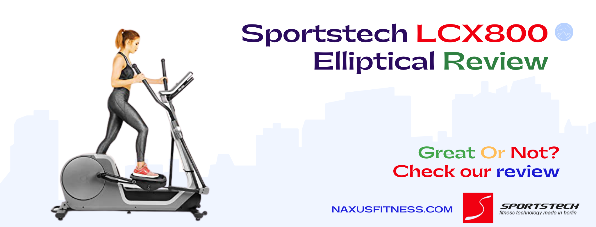 Sportstech LCX800 Elliptical Review