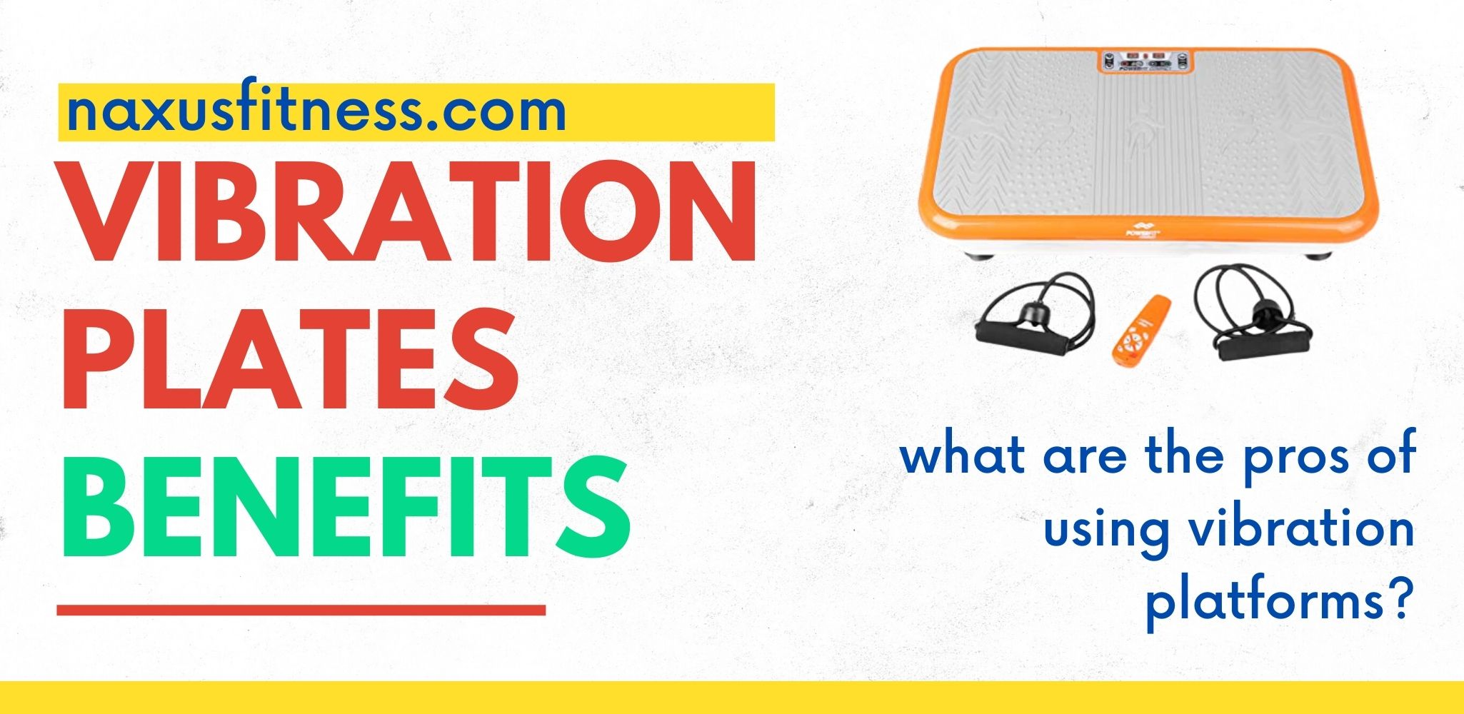 Benefits of using vibration plates