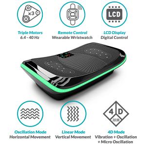 Bluefin 4D vibration platform mentionable features