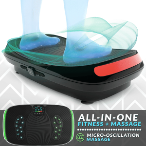 Bluefin fitness 4d vibration plate massage feature