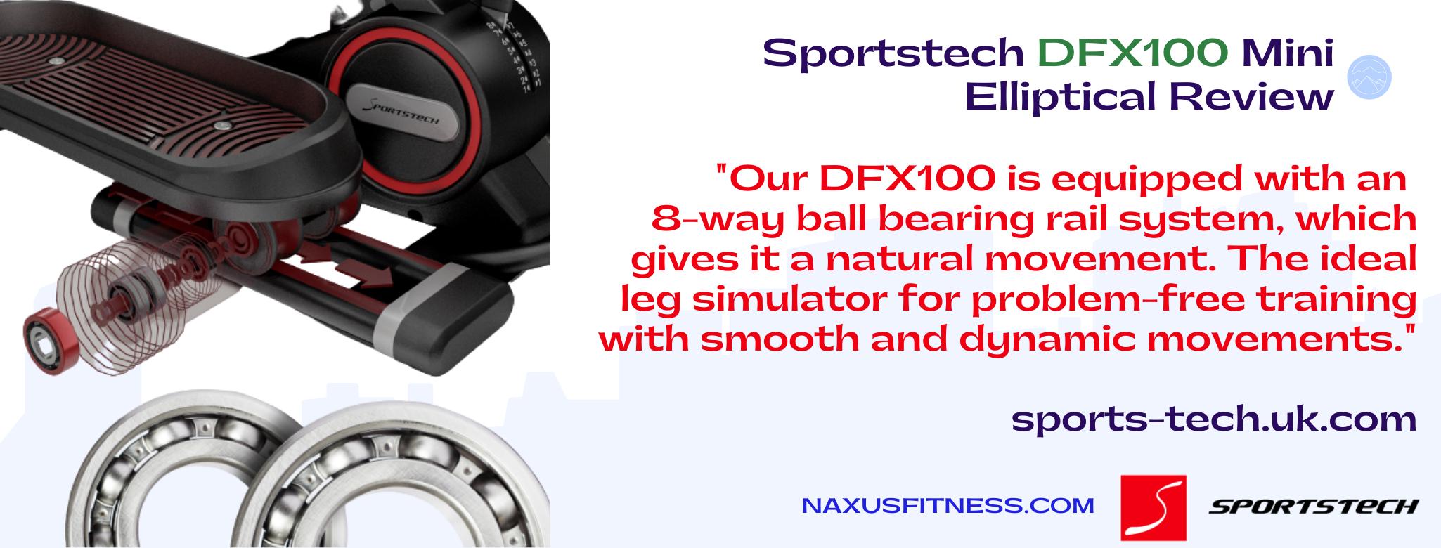 Sportstech DFX100 8 way ball bearing