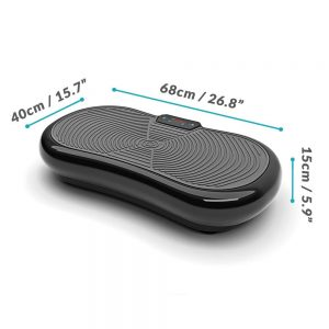Bluefin ultra slim vibration plate dimensions
