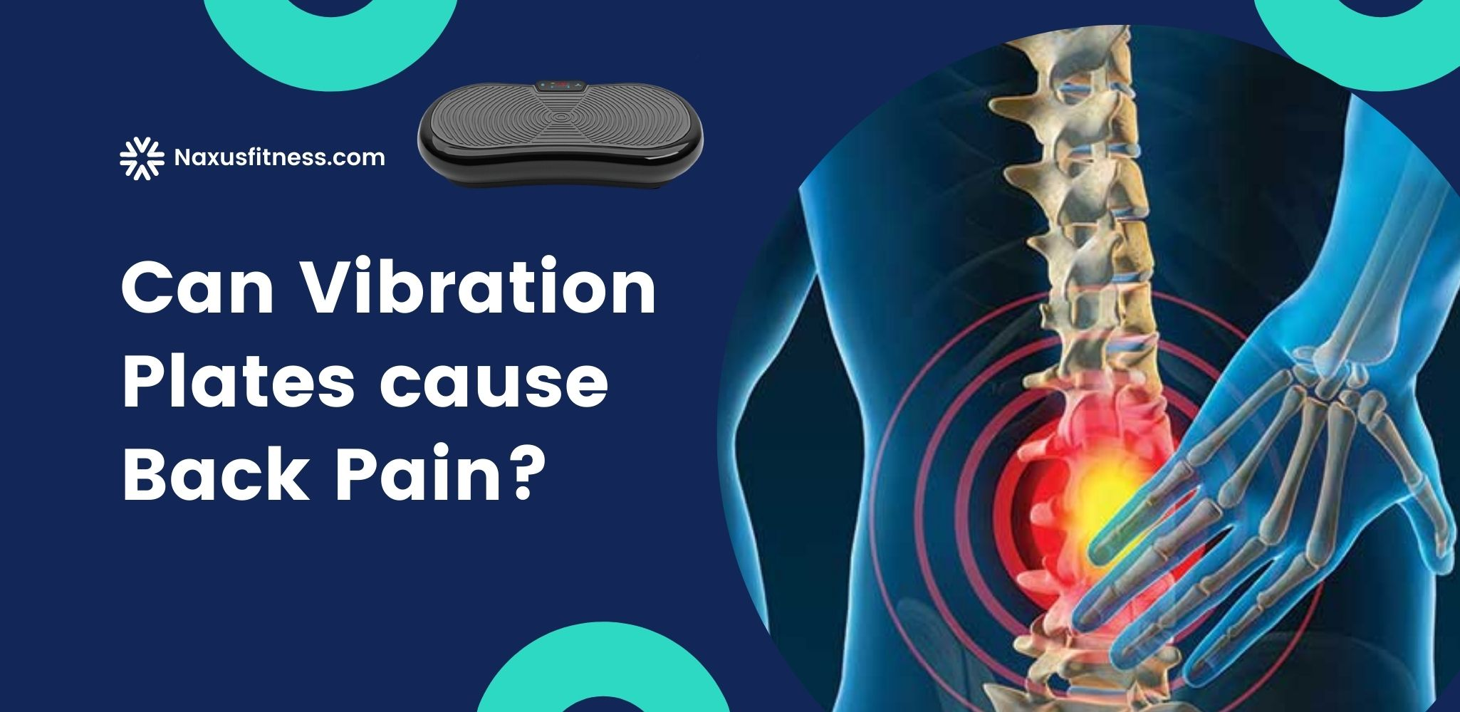 Can vibration plates cause back pain