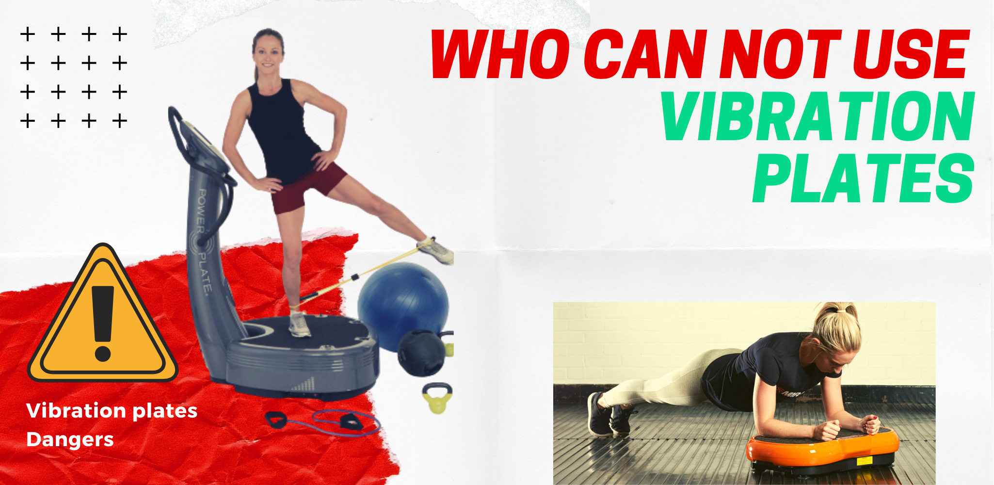 Who can not use vibration plates