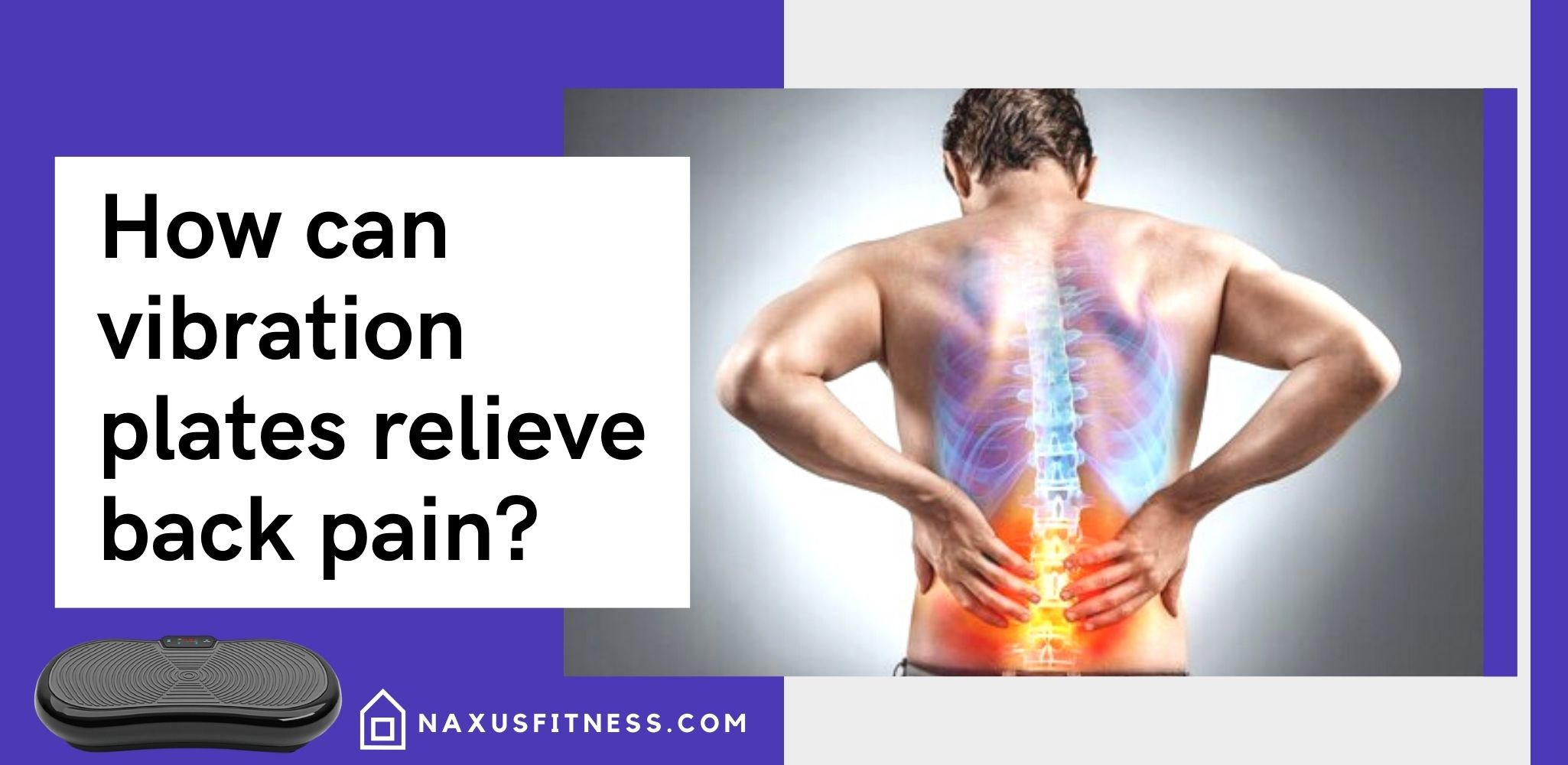how can vibration plates relieve back pain
