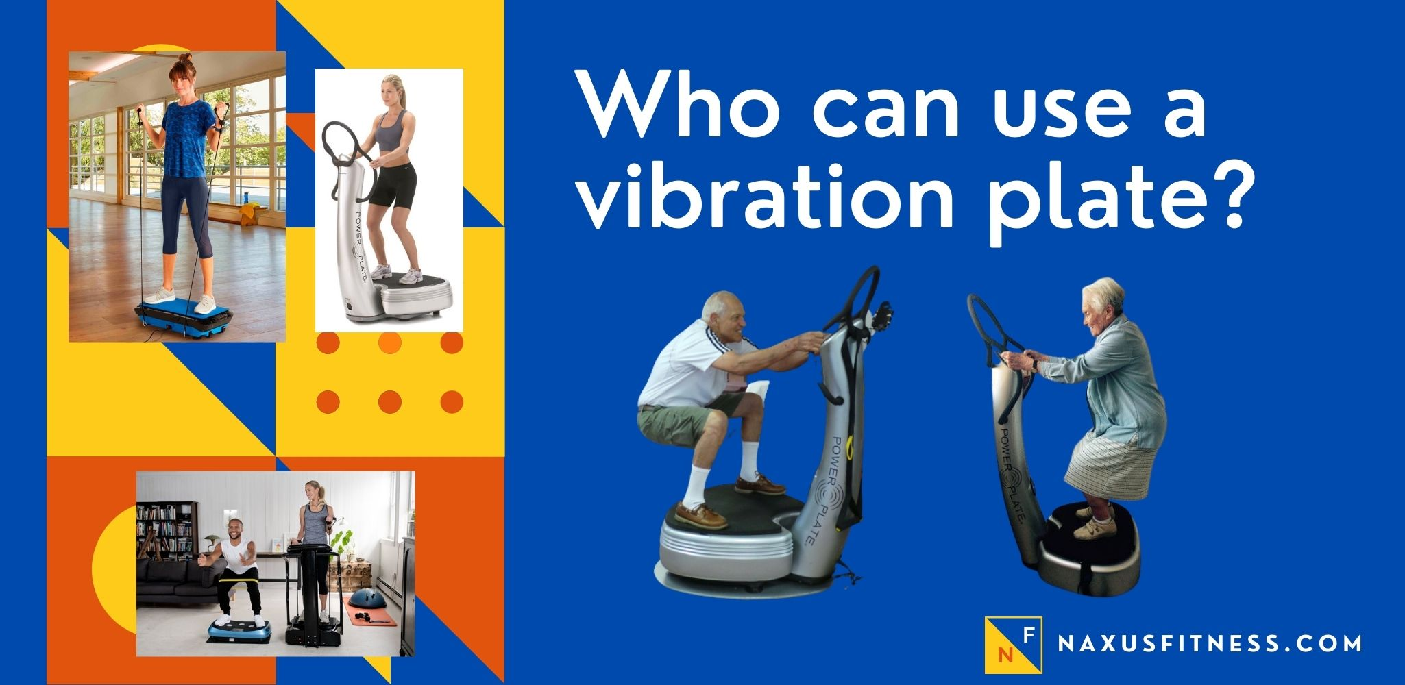 who can use a vibration plate